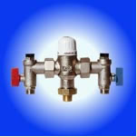 thermo static mixing valves